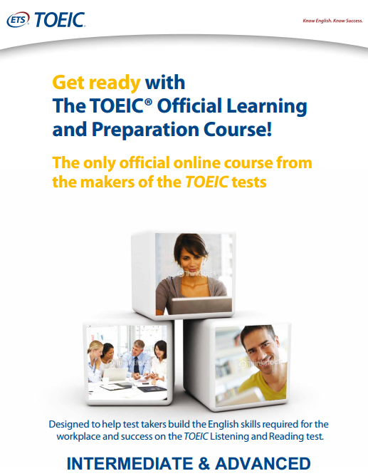 Online Prep Course TOEIC® Official Learning and Preparation Course - Intermediate to Advanced
