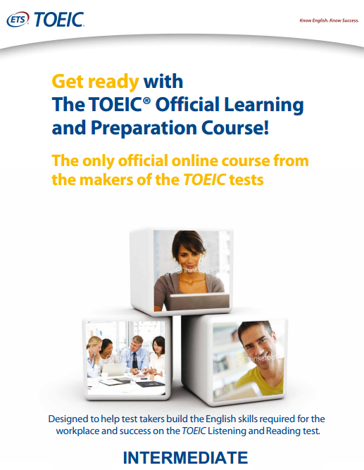 Online Prep Course TOEIC® Official Learning and Preparation Course - Intermediate